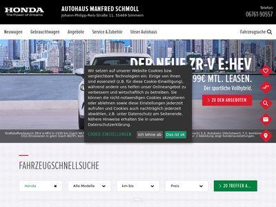Autohaus Manfred Schmoll