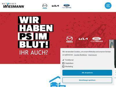 Wiesmann Autohaus Mazda Vertragshändler