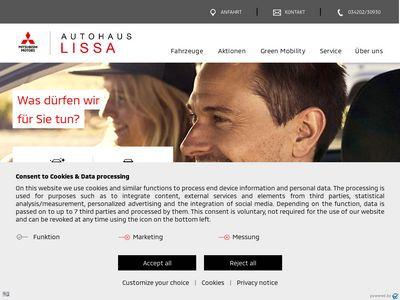 Autohaus Lissa in Delitzsch