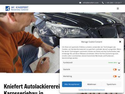 Autolackiererei Kniefert