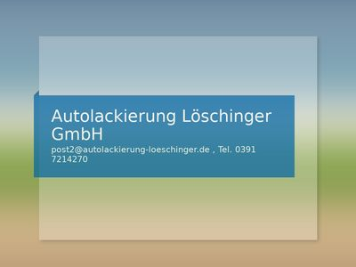 Autolackierung Löschinger GmbH