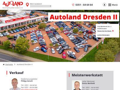 Autoland in Dresden II