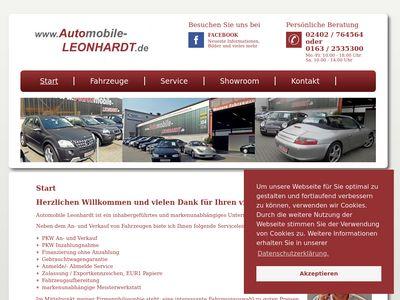 Automobile Leonhardt