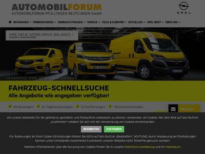 Automobilforum Pfullingen-Reutlingen