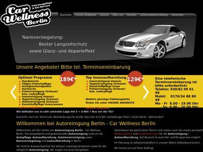 Autoreinigung Berlin - Car Wellness Berlin