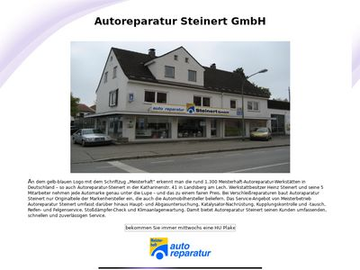 Auto-Reparatur Steinert GmbH