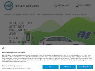 ASP Autosalon Berlin
