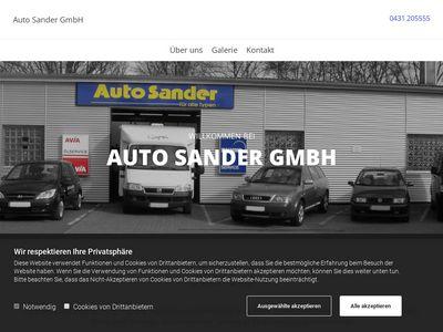 Auto Sander GmbH Kfz-An- und -Verkauf