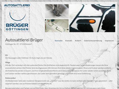 Autosattlerei Brüger