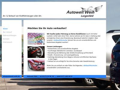 Autowelt Weih
