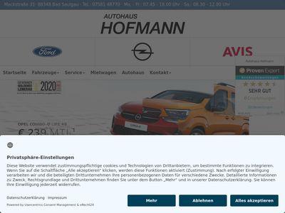 Autohaus Hofmann KG