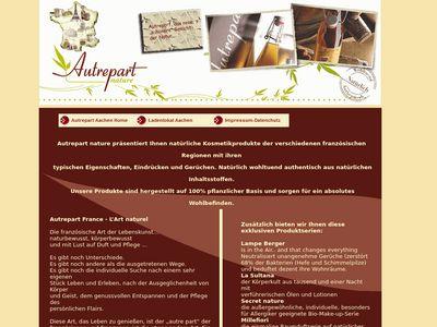 Autrepart Biokosmetik & Raumdüfte
