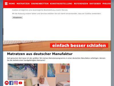 Bachmann Schlafkultur Galerie