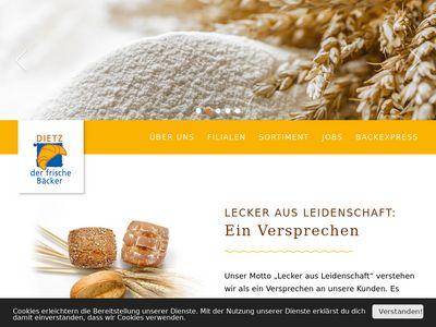Dietz - Der frische Bäcker