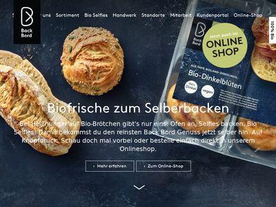 Back Bord Mühlenbäckerei