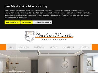 Backes + Martin Malermeister