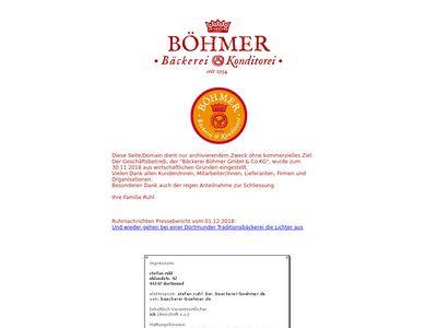 Bäckerei Böhmer