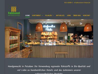 Bäckerei & Konditorei Fahland GmbH