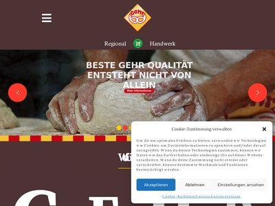 Gehr GmbH Bäckerei