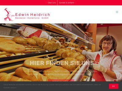 Edwin Heidrich Bäckerei-Konditorei GmbH