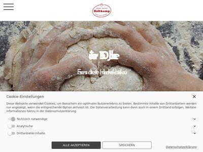 Bäckerei & Konditorei Holtkamp