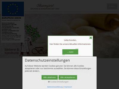 Bäckerei - Konditorei Baumgärtel