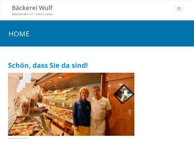 Bäckerei - Konditorei Wulf