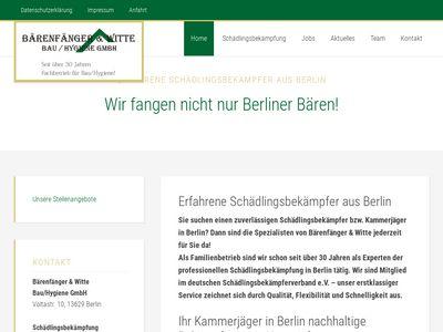 Bärenfänger & Witte Bauhygiene GmbH