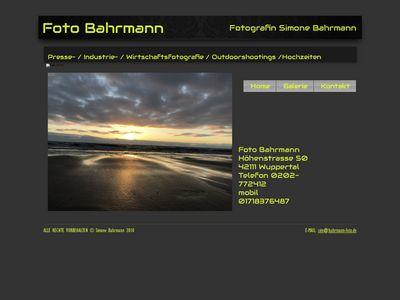 Simone Bahrmann Fotografin