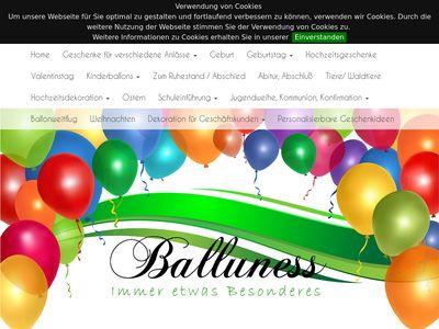 Balluness - Immer etwas Besonderes
