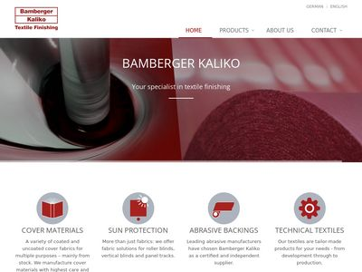 Bamberger Kaliko Textile Finishing GmbH