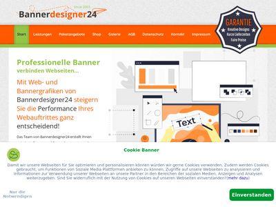 Bannerdesigner24 Webdesign