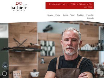 Die Barbiere Hairstyle