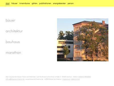 Bauer Architekt BDA