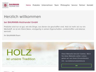 BAUMANN Holzhandel GmbH