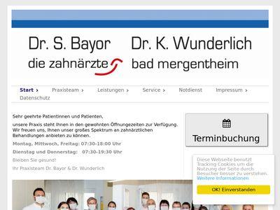 Dr.med.dent. Klaus Wunderlich Zahnarzt
