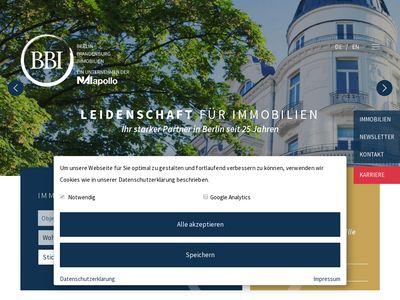 BBI Berlin Brandenburg Immobilien GmbH