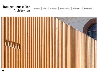 Baurmann.dürr Architekten