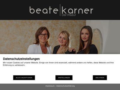 Beate Karner - Der Friseur