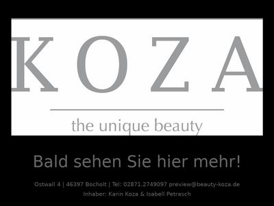 KOZA - the unique beauty