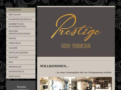 Prestige Friseur Premiumsalon in Cottbus