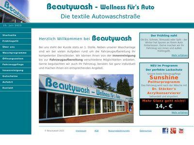 Beautywash - Wellness f�r's Auto