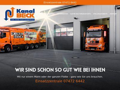Beck Kanalreinigungs-GmbH