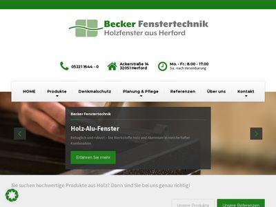Becker Fenstertechnik GmbH & Co. KG