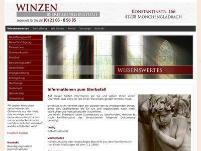 Bestattungen Heinrich Winzen