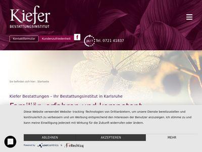 Bestattungsinstitut Kiefer GmbH