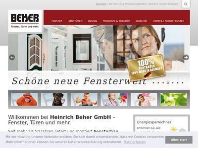 Beher GmbH Kunststoff-Fenster-Werk