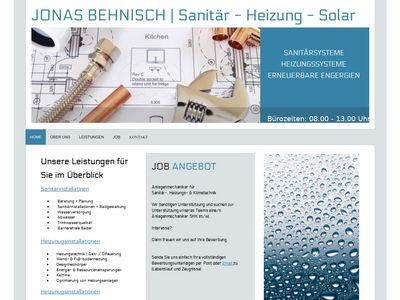 Jonas Behnisch - Sanitär - Heizung - Solar