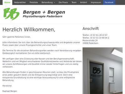 Bergen + Bergen Physiotherapie