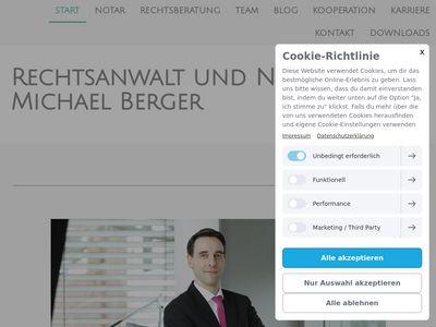 Rechtsanwalt & Notar Michael Berger